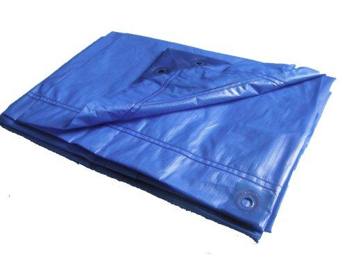 Chalet et Jardin B4*5-70-B Bâche de Protection Plastique Bleu Nuit 400 x 500 cm