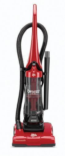 Dirt Devil Breeze ciclónica sin Bolsa aspiradora Vertical, ud70105, Breeze Cyclonic, Rojo, 1