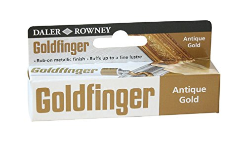Paquete de papel ingres Daler Rowney (Goldfinger color tubo), color dorado envejecido