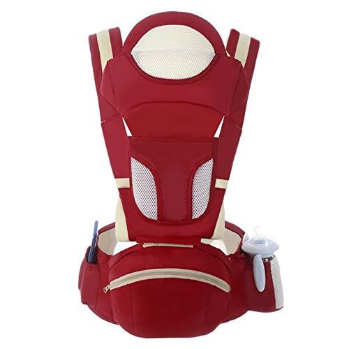 Portabebés Mochila portabebés ergonómica Asiento de cadera para recién nacidos y previene las piernas tipo o en cabestrillo para bebés