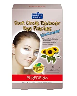 Purederm Dark Circle Reducer Eye Patches SUNFLOWER (4 treatments)