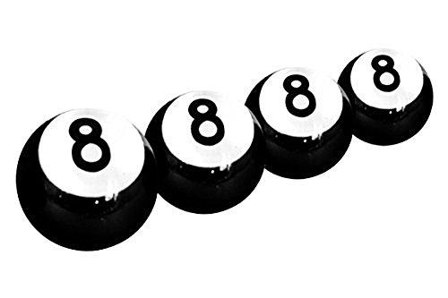 Nombre 8 Valve Caps Tire Sport Turbo