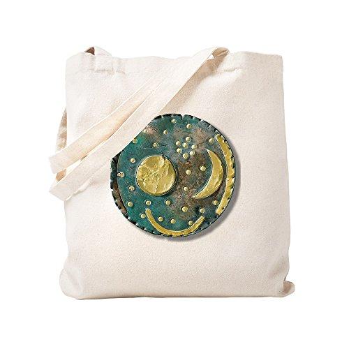 CafePress Tragetasche Nebra Sky Disk, Bronze Age, canvas, khaki, S