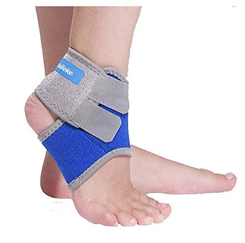 Plantar Fasciitis Socks with Arch Support for boy & Girl - Best 24.5/7 Compression Foot Sleeve for Aching Feet & Heel Pain Relief Holds Shape & Better Than a Night Splint-One Pair (Blue, Small)