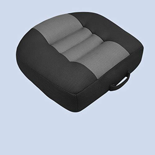 SXHYL Auto-Sitzkissen Sitzerhöhung Erwachsener Sitzerhöhung Für Auto, Tragbarer Kindersitz Für Fahrer, Beifahrer, Atmungsaktive rutschfeste 3D-Netzkissen Mit Praktischem Griff,1