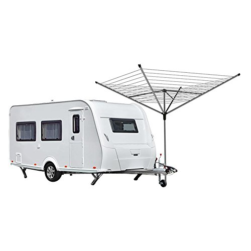 Grobach houder voor dissel steunwielen klemhouder voor droogmolen of SAT-antenne, mast, caravan, steunwielhouder camping etc.