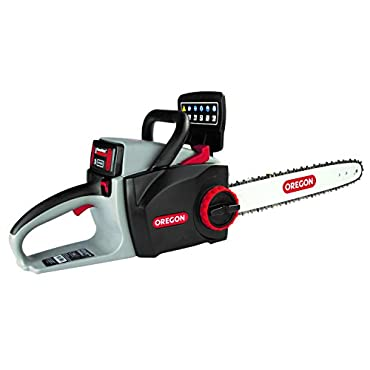 Oregon Cordless 16 Self-Sharpening Chainsaw with 6.0 Ah Battery and Rapid Charger