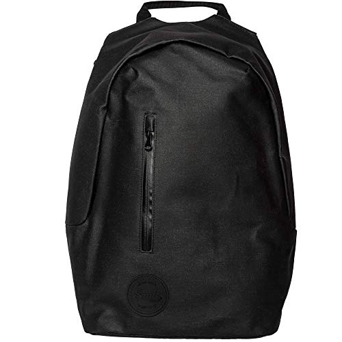 Smile The Rock Anti-Theft Backpack for 15.6 inch Laptop with Built-in USB Port, Inner Dividers, School Backpack, Black