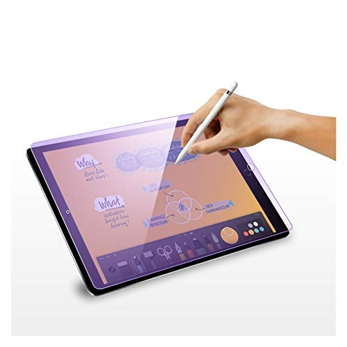 JYBHSH For IPad 2018 Pro 11 2020 2018 Tempered Glass Screen Protector/Air 3 10.5 10.2 2019 2020 / Air 2 1 / Mini Air 4 10.9 9H Film (Color : 9.7 2018 2017)