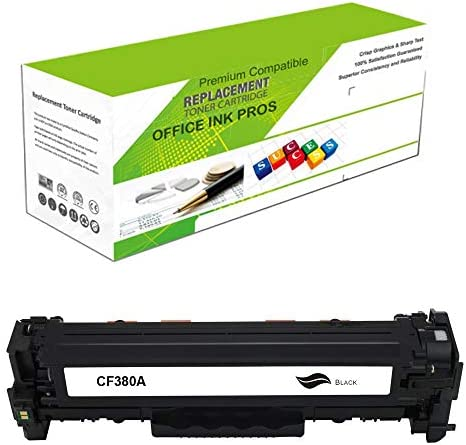 Premium Ink Toner Re Manufactured Toner Cartridge Replacement for CF380A Standard Yield Laser product image