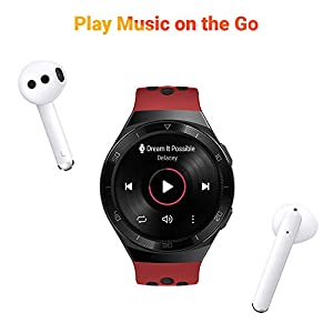 HUAWEI Watch GT 2e Bluetooth SmartWatch, Sport GPS 14 Days Working Fitness Tracker, Heart Rate Tracker, Blood Oxygen Monitor, Waterproof for Android and iOS, 46mm Lava Red