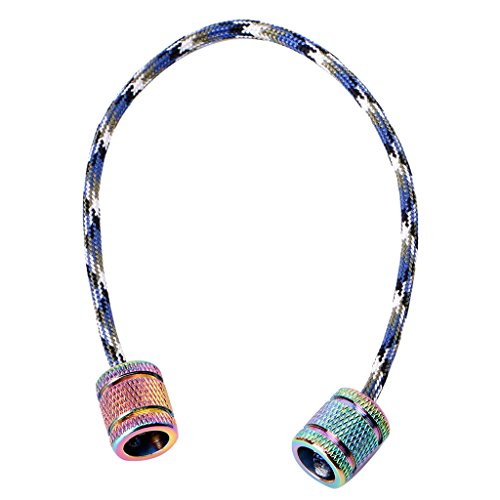 Shaoge Aluminum Alloy Begleri Fidget Toy Worry Beads Finger Skill Paracord Stress Toys