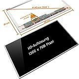 Laptiptop 15,6' LED Display Screen Glossy Ersatz für Sony Vaio PCG-71614M HD 40pin Bildschirm Panel
