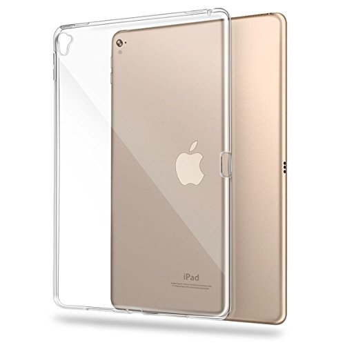 iPad Pro 9.7 inch Case, Asgens Transparent Slim Silicone Case Flexible Soft TPU Shockproof Tablet Computer Case for iPad Pro 9.7 inch Model A1673 A1674 A1675 (2016)