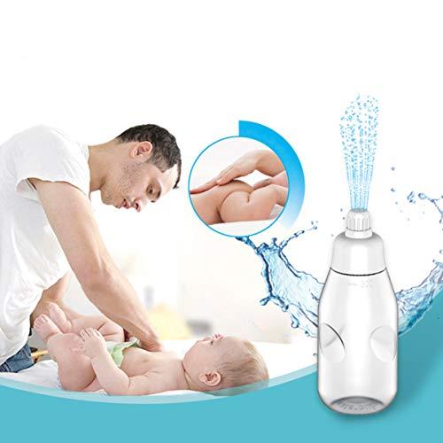 HEALLILY Draagbare Bidet Fles Baby Ass Wasmachine Bidet Sproeier Multifunctionele Baby Benodigdheden Veilige Baby Bidets Praktische Babyverzorging Cleaner Ass Flusher Voor Baby Baby Thuis Slaapzaal 1Pc