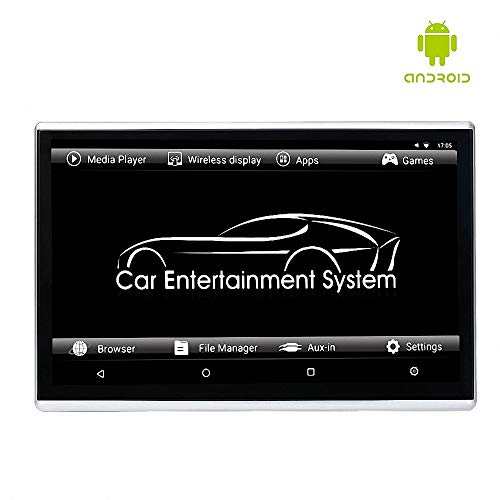 LWTOP Car Headrest Monitor Rear Seat Entertainment System Display, 11.6 Zoll Externe Android IPS Multi Touch-Screen Portable Player