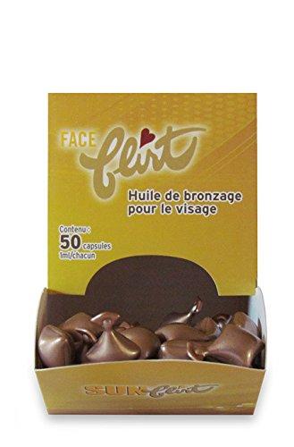 Solana-Inc Sun-Coquin Oil Face (50 caps) en capsules de collagène 50 Pcs En Carton ...