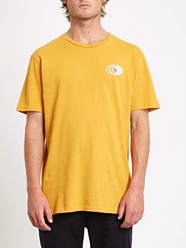 Volcom Herren Vorbit Ltw SS Kurzärmeliges T-Shirt, Inca Gold, L