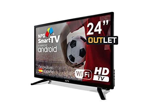 Televisor LED 24  HD NPG Smart TV Android PVR WiFi DVB-T2 H.265 Quad Core
