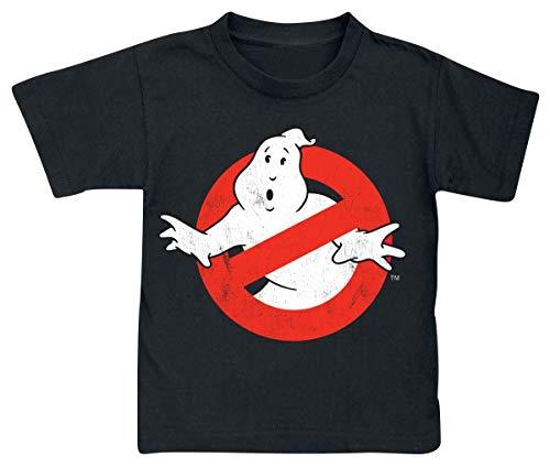 Ghostbusters Distressed logo T-shirt zwart