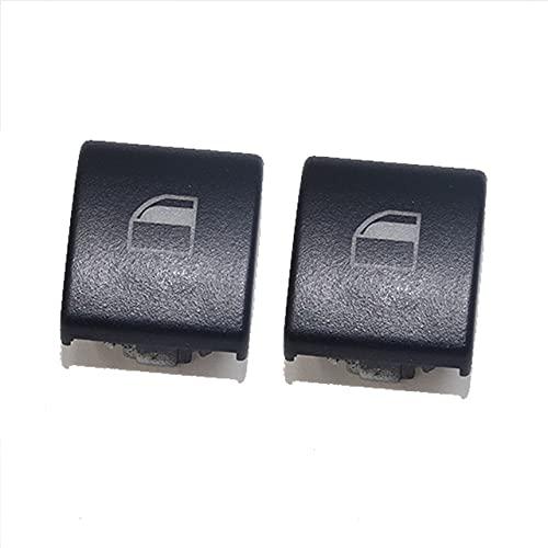 AutOcean Cubierta del Interruptor de la Ventana para BMW Serie 3 E46 (X5 X3) Tapas de la Cubierta de la Consola del Interruptor del botón de la Ventana eléctrica