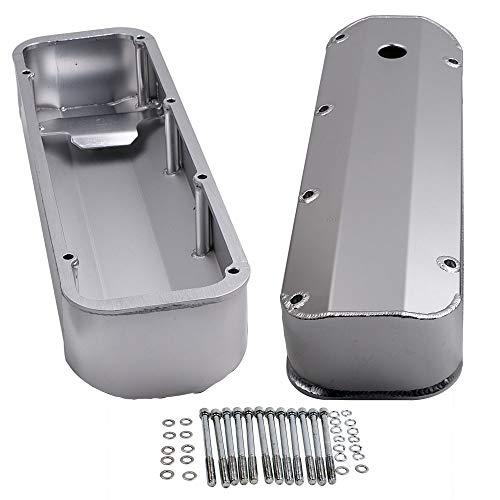 Autoslegend 1 Pair Aluminum Valve Covers for Ford V8 BBF 429-460 Engines Big Block