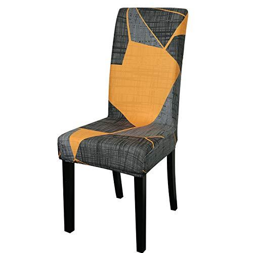 LiveGo, Stuhlbezug, dehnbare Esszimmer-Stuhlhussen mit hoher Rückenlehne, Schutzbezug, elastischer Stuhlschutz, Sitzbezüge für Esszimmer, Hochzeitsbankett, Party-Dekoration