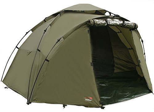 TFG TF Gear Force 8 2 Man Carp Fishing Twin Skin Bivvy Tent With Ground...