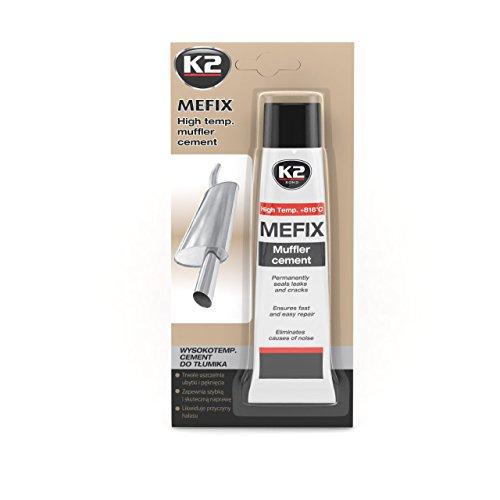 K2 Mefix Auspuff Zement hochtemperatur, Auspuff Reparatur, Auspuff Dichtmasse, Auspuffanlage, Reparatur Zement, Dichtstoff 140g