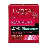 L'Oreal (ロレアル) Revital' Ribaitarifutoトリプル アクション デイ クリーム 50ml x 1