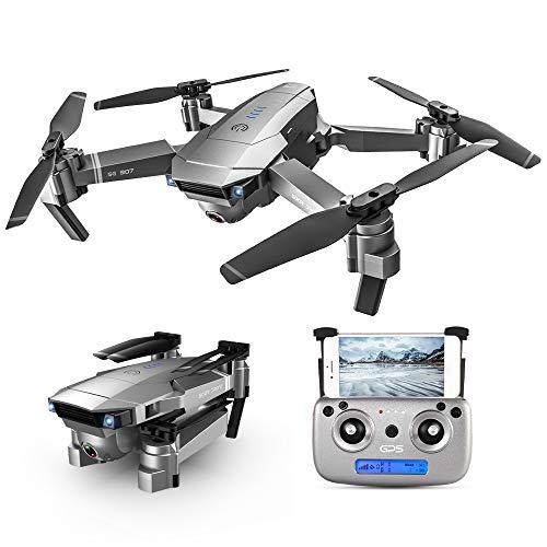 GoolRC SG907 RC Drone 5G WiFi 4K con cámara Dual GPS Posicionamiento de Flujo óptico Interfaz MV Sígueme Gesture Photos Video RC Quadcopter con 1 batería