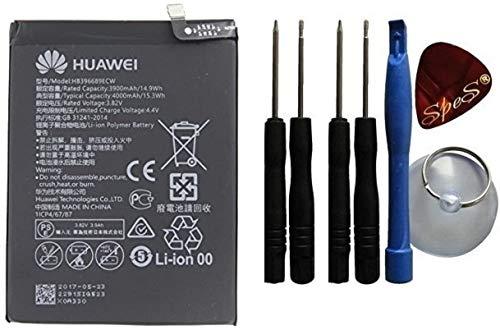 Original Huawei Ersatz Akku für Huawei Y7 (2019) Batterie 4000mAh HB396689ECW Service