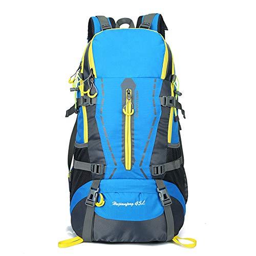 Sac à Dos 45L Tactique, Hommes Femmes Waterproof Molle Bug Sac à Dos pour la randonnée Trekking Rucksacks Camping Voyager Escalade,B