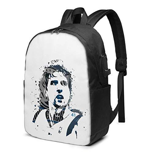 IUBBKI Bolsa para computadora mochila USB Dir-K Now-Itzki Logo 17 Inch Laptop Backpack For Men & Women,Travel/School Backpack With Usb Charging Port & Headphone Interface