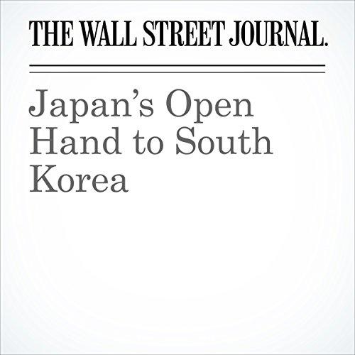 Japan's Open Hand to South Korea copertina