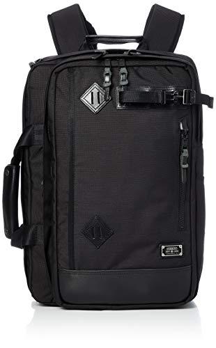 [アッソブ] 3WAY バックパック ビジネスバッグ ビジネスリュック 061300 EXCLUSIVE BALLISTIC NYLON BLACK