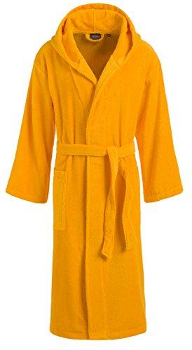Egeria 011027 Dallas Unisex Bademantel, Baumwolle, 42 x 32 x 10 cm, Sunny gelb