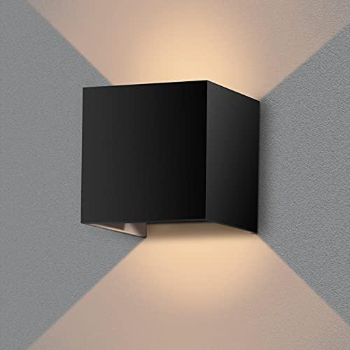 CS Light® Wandleuchte Innen & Außen – einstellbarer Lichtstrahlwinkel - Wasserdicht & einfache Montage – [3000]k [700]LM [65]IP – Energieffizient A+