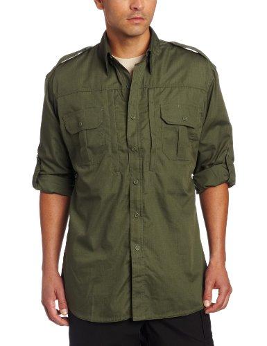 Propper Men's Long Sleeve Tactical Shirt - Large - Olive