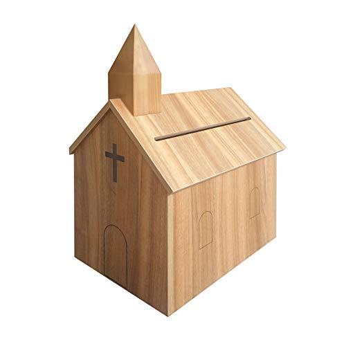 FixtureDisplays Church Steeple Box Collection Box Tithing Donation Box Fundraising Charity Box 21397-NPF!