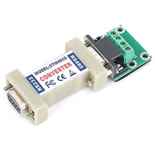 Adaptador convertidor de un solo extremo, proceso de precisión de plástico 57 x 37 x 17 mm 300-115200bps