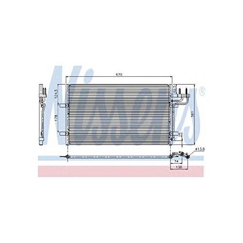 Preisvergleich Produktbild Nissens 94663 Klimakondensator