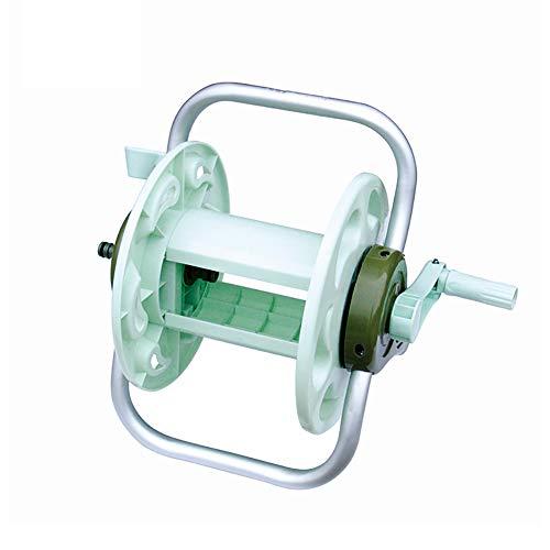 ZDYLM-Y Carro portamangueras Portátil Metal Pipa de Agua Estante de Almacenamiento, Adecuado para 20m Pipa de Agua