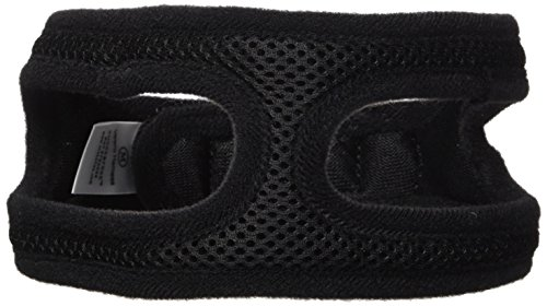 ChokeFree Velpro Mesh Pet Shoulder Harness Collar, 16', Black