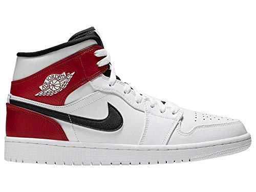 Nike Air Jordan 1 Mid, Sneaker a Collo Alto Uomo