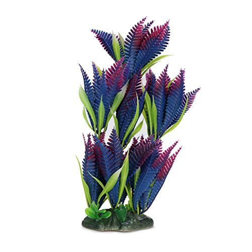 Aquarium Aquarium Artificial Plants Plastic Plant Decoration Fish Tank Imitation Coconut Tree Decor Underwater Artificial Bonsai Tree Ornament Plastic Simulation Water Grass Fish Tank Decorations