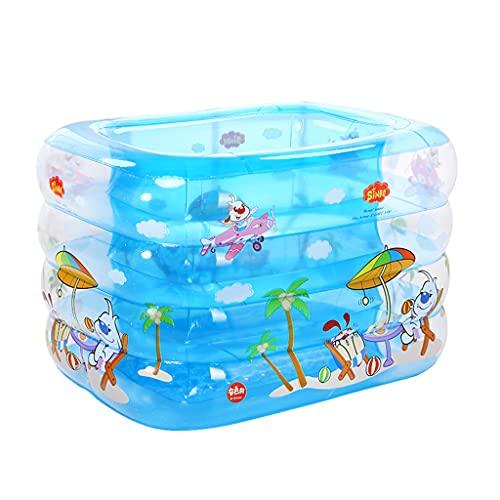 Aumente La Piscina Inflable, La Protección del Medio Ambiente, La Piscina para Niños Transparente De PVC, La Piscina para Bebés Y Niños Pequeños, La Piscina De Bolas Oceánicas, La Piscina De Juguete