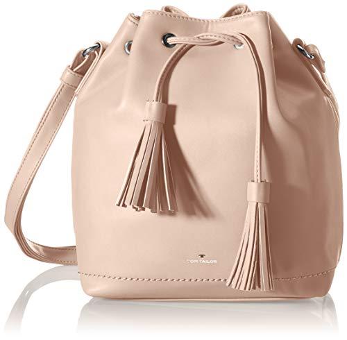 TOM TAILOR Damen Amalia Bucket bag, light rose, M