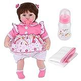 Niiyen Muñecas para bebés, muñecas para bebés Reborn de Cuerpo Completo, muñecas para bebés realistas con Pelo Corto, Que adoptan tecnología de Vinilo, extremidades móviles(45 cm / 17,7 Pulgadas)