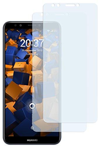 mumbi Schutzfolie kompatibel mit Huawei Y7 2018 Folie klar, Bildschirmschutzfolie (2X)
